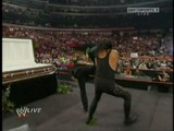 The Undertaker Is Taken Down By Sweet Chin Music From Shawn Michaels - Raw 30-03-09
